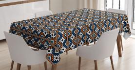 Geometrisches Muster Tischdecke