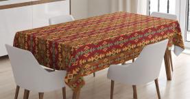 Geometrische Streifen Tischdecke