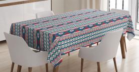 Einheimische Alte Motive Tischdecke