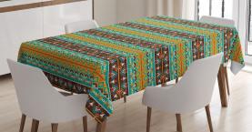 Stammes-Kunst-Muster Tischdecke