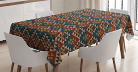 Ethnische Kunst Design Tischdecke