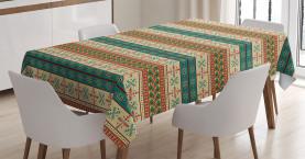 Ethnische Stammes- Fliese Tischdecke