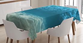 Gewellte tropische Komposition Tischdecke