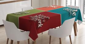 Liebe mehr Sorge weniger Tischdecke