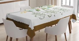 Achtsamkeit fliegende Vögel Tischdecke