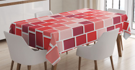 Geometrische Formen Tischdecke