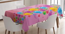 Liebe romantische Herzen Tischdecke