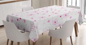 Muster mit Blumen Tischdecke