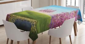 Fairy Castle Fröhliche Blüten Tischdecke