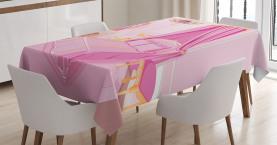Prinzessin Schlafzimmer Interior Tischdecke