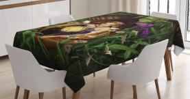 Elf mit grüner Laterne Tischdecke