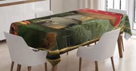 Pilz Magic Forest Tischdecke