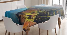 Insel Sonnenschein Panorama Tischdecke