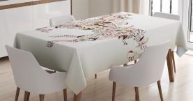 Blumenpferd Paisley Tischdecke