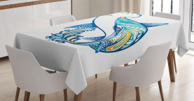 Hammerkopfhai Ozean Tischdecke