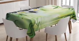 Bambusjapaner Entspannen Tischdecke