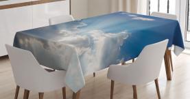 Wolken Sunny Day Himmel Tischdecke