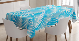 Exotische Miami Palmen Tischdecke