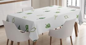 Abstrakte moderne Blätter Tischdecke