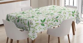 Fancy Ivy Green Blätter Tischdecke
