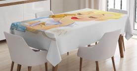 Baby-Wassermann-Tierkreis Tischdecke