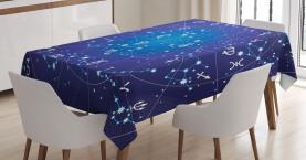 Sternbild Sternzeichen Tischdecke