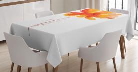Romantische Mohnblume Tischdecke