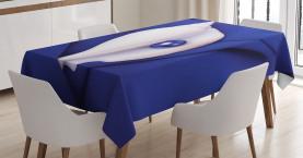 Schale mit Pearl Ocean Tischdecke