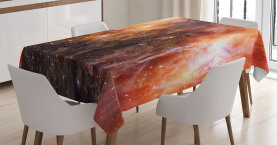 Gaswolke im Weltraum Tischdecke