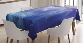 Sternhaufen im Weltraum Tischdecke
