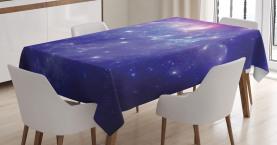 Milchstraße Galaxy Sterne Tischdecke