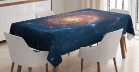 Schwarzer Loch-Kosmos-Raum Tischdecke