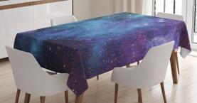 Galaxy Sterne im Weltraum Tischdecke