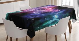 Staubige Gas-Wolken-Sterne Tischdecke