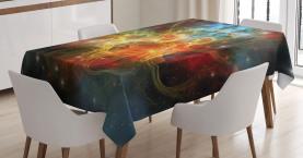 Weltraum-Universum Tischdecke