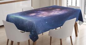 Stern-Cluster-Universum Tischdecke