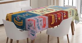 Motivierende Sammlung Tischdecke
