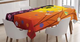 Blumenkleid Kunstvoll Tischdecke
