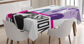 Moderne Damenmode Tischdecke