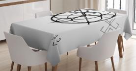 Abstrakte Kreise Tischdecke