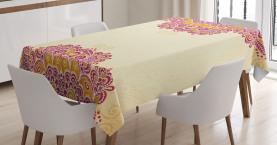 Henna inspiriert traditionell Tischdecke