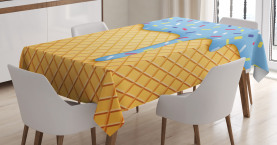 Sweet Waffle Tablecloth