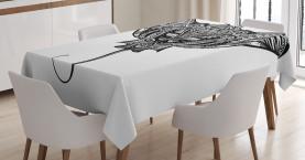 Cramp Fisch Stammes-Stil Tischdecke
