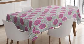Crosscut Drachenfrucht Tischdecke