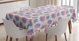 Rustikales botanisches Konzept Tischdecke