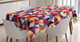 Bauhaus-Art-Muster Tischdecke