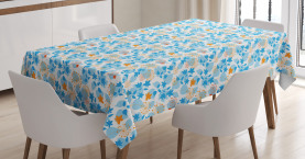 Dandelions and Leaves Tablecloth