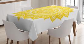 Damast-Stil-Motiv Tischdecke