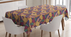 Funky African Boho Tablecloth