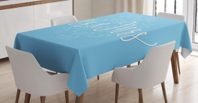 Romantic Wedding Design Tablecloth